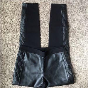 [Armani Exchange] NWT Faux Leather Skinny Pants